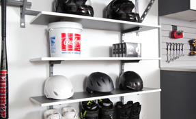 Adjustable Wall Shelves